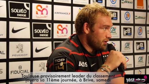 Top 14 : Toulouse arrache le point de la victoire face à Toulon