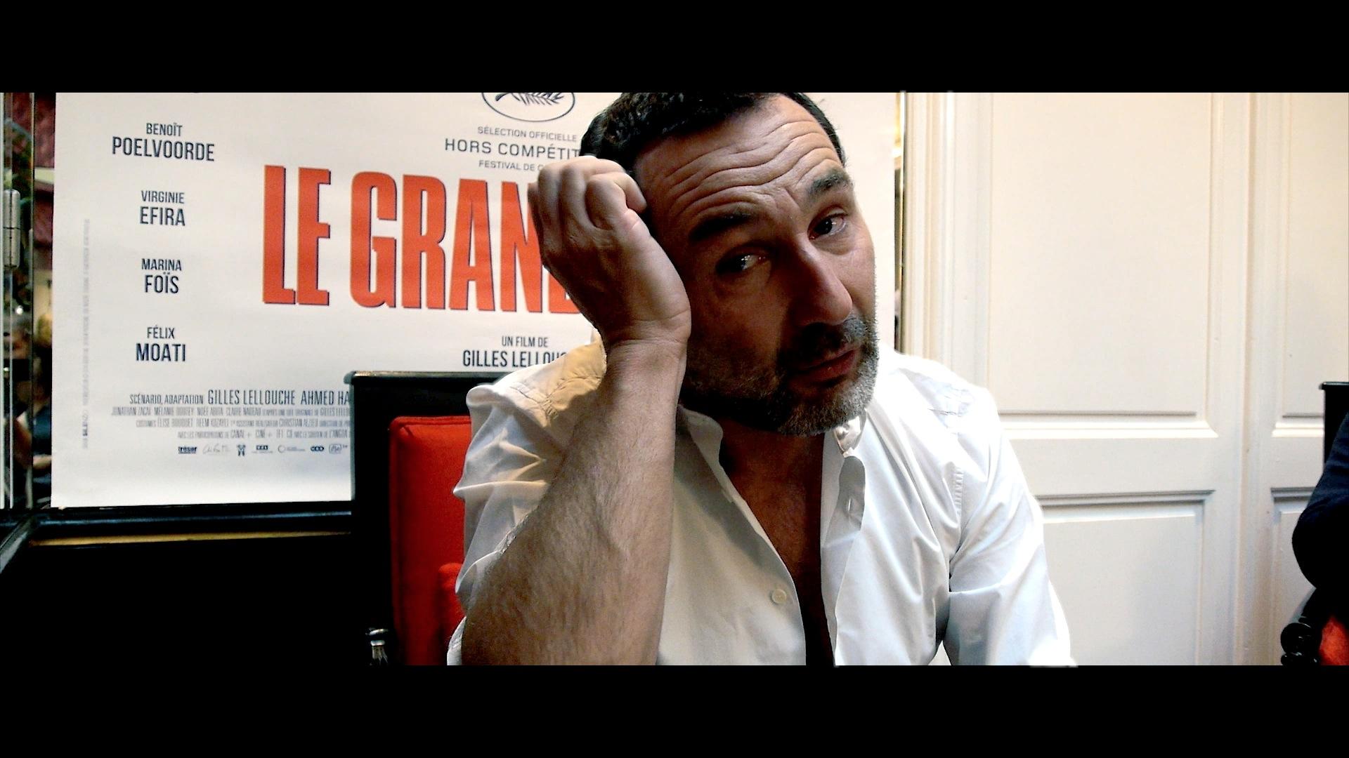 Gilles Lellouche avec Le Grand Bain